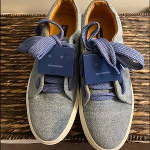 Denim Acne Studios Platform sneakers